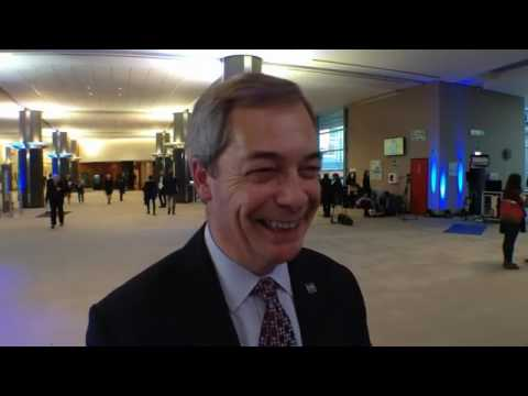"Nigel Farage: ""Maybe I'll come back""."