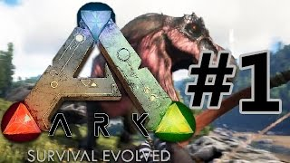 Ark: Survival Evolved Let's Play / First Look And Overview - Gameplay - Part 1