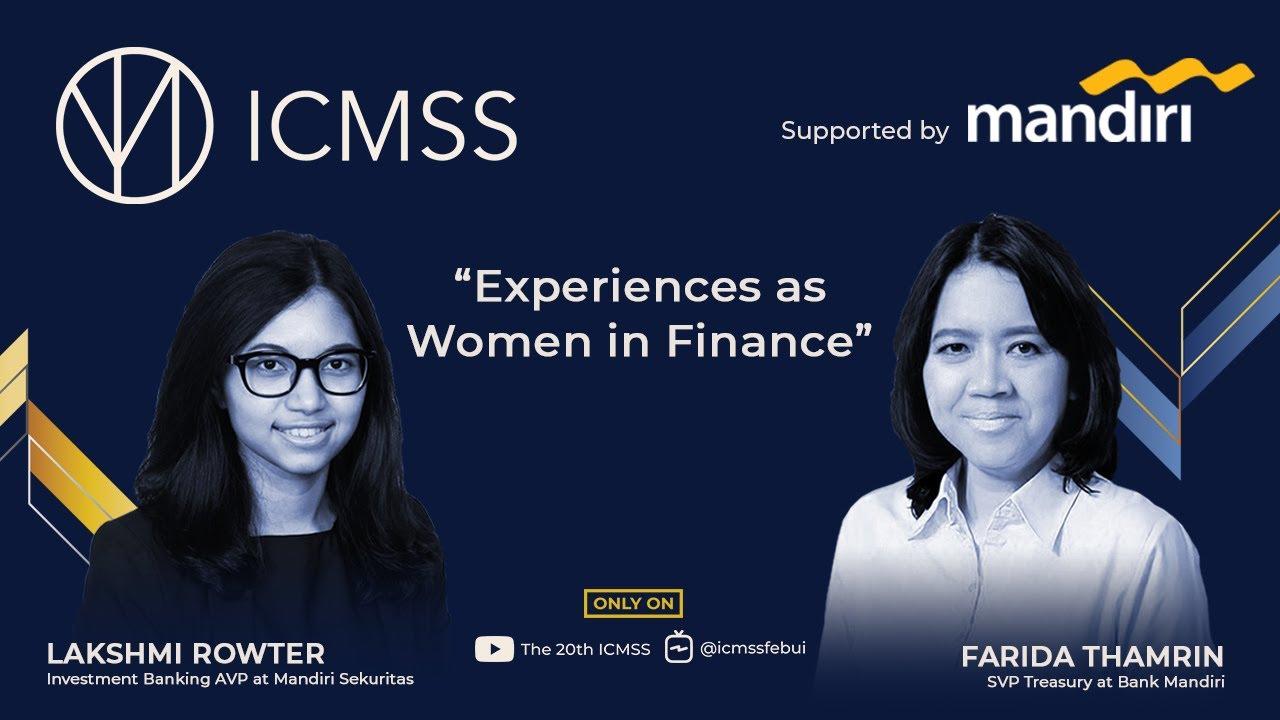 """#BlueTalks, Episode 3, """"Experiences as Women in Finance"""""""