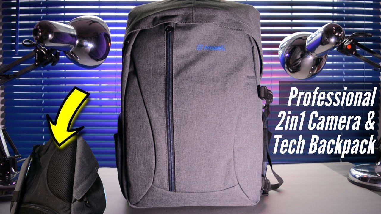2cd1bb33ae1b Best Amazon Camera   Travel Backpack - PROWELL 2in1 Review - YouTube
