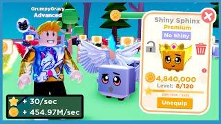 I got a SHINY LEGENDARY PET! +400 Million Coins Per Second! Roblox Pet Ranch Simulator 2