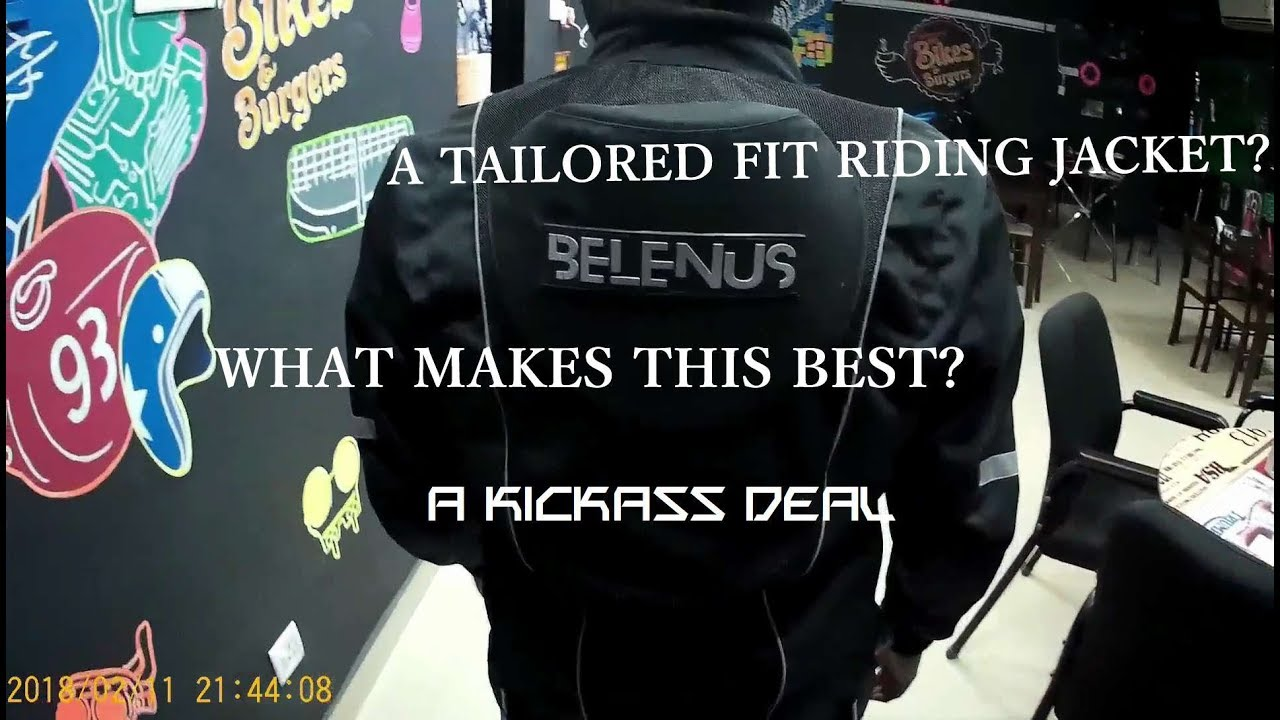 Planning for a riding jacket? CHECK THIS OUT-BELENUS
