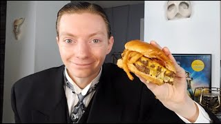 Wendy's NEW Bourbon Bacon Cheeseburger Review!
