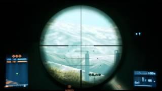 Record tireur d'élite - Headshot à 1395 mètres sur opération tempête de feu ! [ Battlefield 3 ]