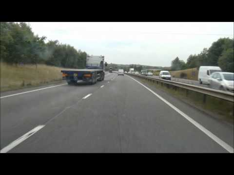 The A42 - Featured on the Pathetic Motorways Website