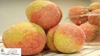 Пирожное Персики