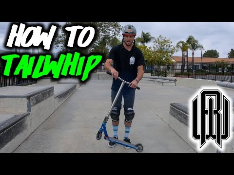 How To TAILWHIP ON A SCOOTER W/ Raymond Warner