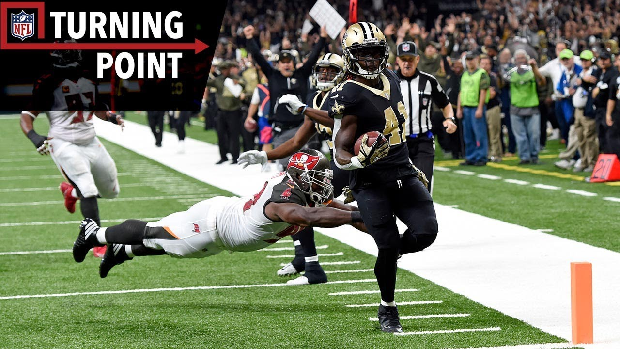 Saints rookie RB Alvin Kamara turning heads with dazzling plays