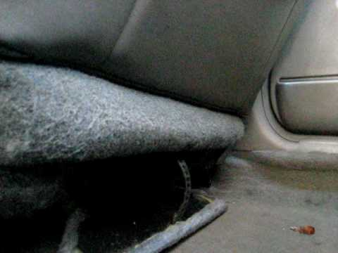 Car Hidden Compartment Passenger Seat