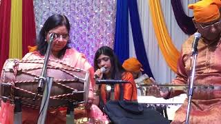 aao saja lein aaj kosinging bhajan at markham mandir on christmas december 25 2017