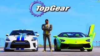 GTA V: TopGear | GTR do GREG vs DIABO VERDE Maureca . Gameplay M2