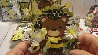 SENT-Ladybugs and Honey Bees Rolodex card swap on facebook