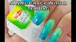 How To Fix A Nail Crack With a Tea Bag