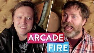 Rainn Wilson Almost Attacks Win Butler of Arcade Fire | Metaphysical Milkshake