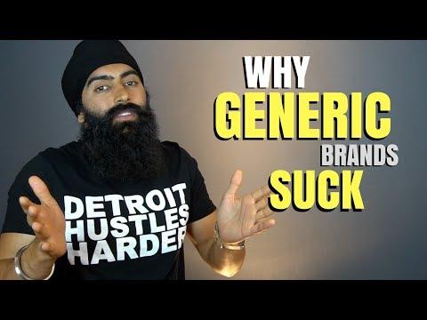 Why Generic Startups Suck