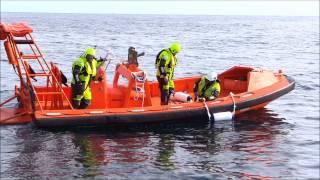 Drop Livbåt Oseberg Sør
