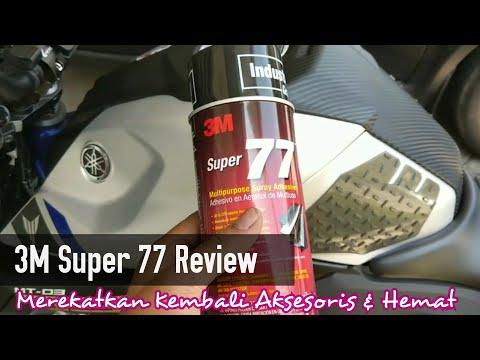Perekat Praktis 3M Super 77 Review : Merekatkan Kembali Tank Pad & Aksesoris Tempel Anda
