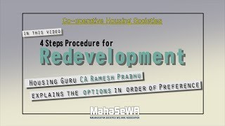 Redevelopment of CHS: 4 Steps Procedure