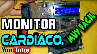 Como hacer un monitor cardíaco (Muy fácil)
