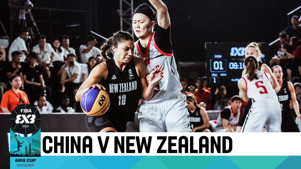 a5b20cd013 China v New Zealand - Women s Full Game - FIBA 3x3 Asia Cup 2018 ...
