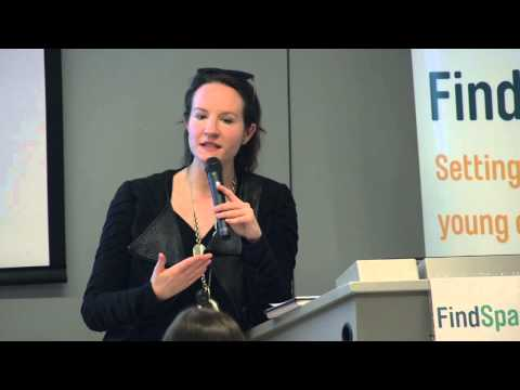 Mariah Chase, CEO of Eloquii, at the FindSpark Find & Follow Your Passion Fashion Conference