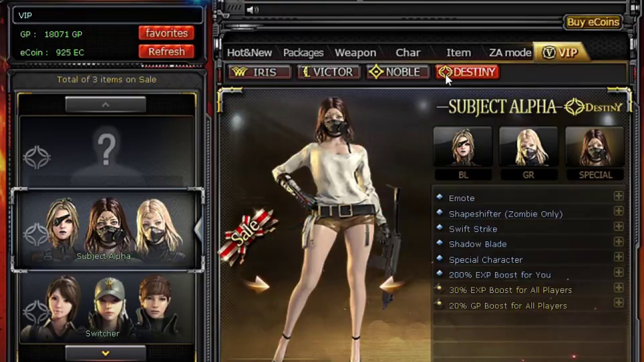 Crossfire philippines buying vip character subject alpha - Subject alpha cf ...