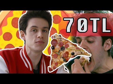 3TL Pizza vs. 70TL Pizza (#SonradanGorme)