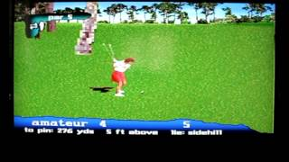 Lets Play PGA Tour 97 For The Sega Saturn   Classic Retro Game Room