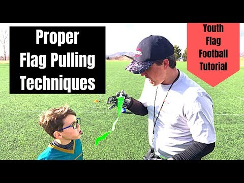 Flag Football Tutorial | Proper Flag Pulling Techniques For Beginners | Pull More Flags
