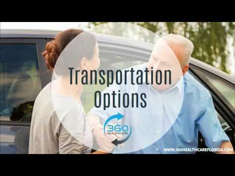 Senior Transportation Palm Beach | Palm Beach Senior Transportation Services | 360Healthcare