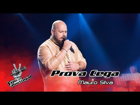 Mauro Silva  Time to say goode  Blind Auditions  The Voice Portugal