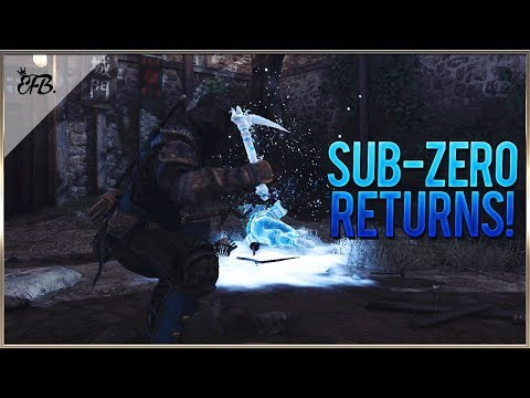 For Honor - The Return of Sub-Zero!