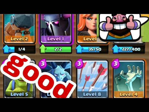 Clash Royale best deck for arena 6