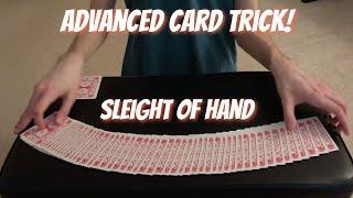Backup - Advanced Card Trick Performance/Tutorial