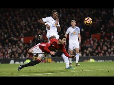 HENRIKH MKHITARYAN INCREDIBLE SCORPION GOAL VS SUNDERLAND IN HD