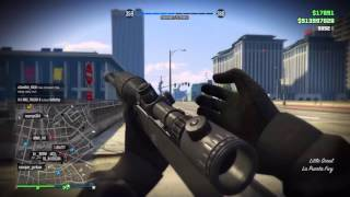 Heavy Sniper Montage Gta Online Ps4
