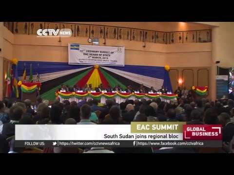 South Sudan joins East Africa's regional bloc