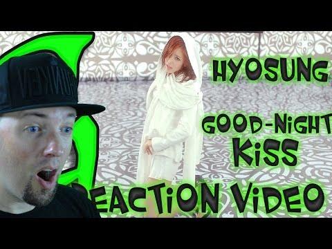 전효성 (JUNHYOSEONG) Hyosung - Good night Kiss Kpop MV Reaction (뮤직비디오) (리액션) 1080p HD