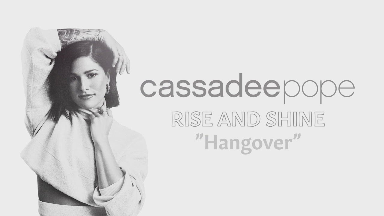Cassadee Pope - Hangover (Official Audio)