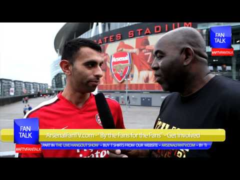 Arsenal FC 3  Stoke City 1 -  Ozil is World Class - T ArsenalFanTV.com