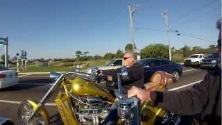 GoPro Hero3... Motorcycle Ride....V8 Choppers