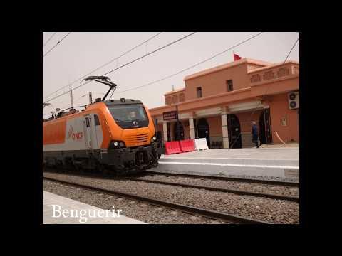2017 Maroc, Train Marrakech, Casablanca, Rabat, Meknes, Fès, by HabariSalam