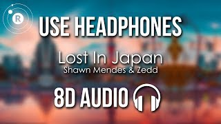 Shawn Mendes & Zedd - Lost In Japan (8D AUDIO) Video
