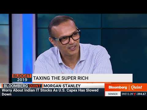 Morgan Stanley's Ridham Desai On How #Budget2019 Impacts Markets