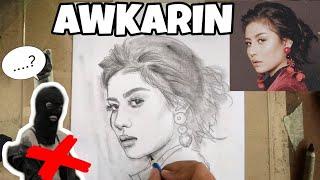 Video Begini cara gambar wajah AWKARIN pakai pensil download MP3, 3GP, MP4, WEBM, AVI, FLV Oktober 2018