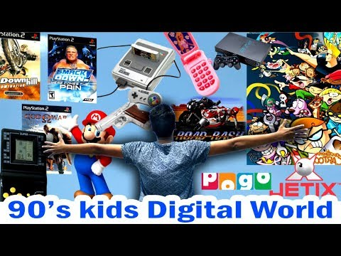 90's Kids Digital World | Alpha Sangam