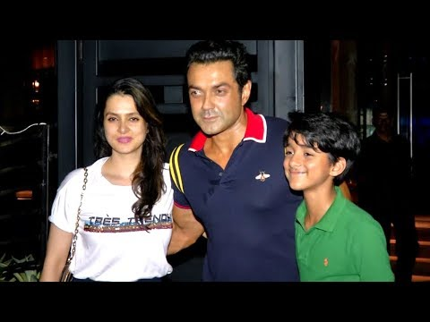 Bobby Deol Parties With Wife And Sohail Khan's Son, Vatsal Seth SPOTTED