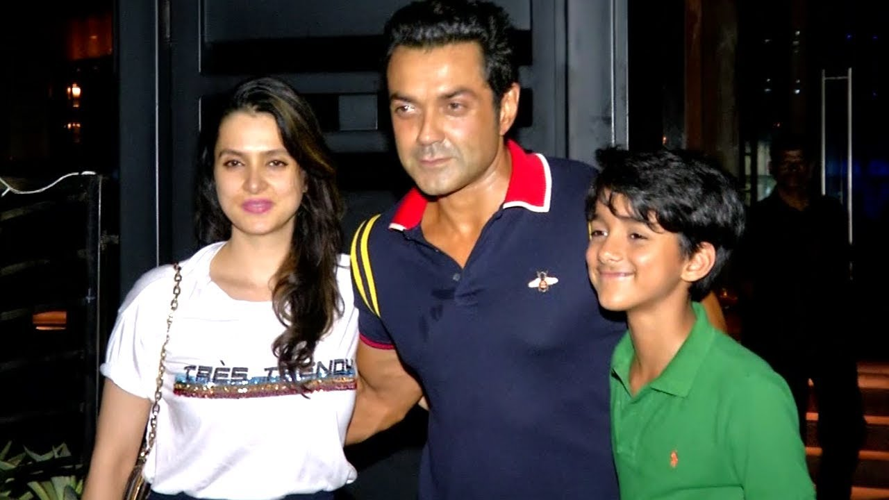 Bobby Deol Parties With Wife And Sohail Khans Son Vatsal Seth