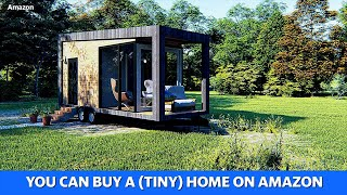 Amazon has tiny homes for purchase