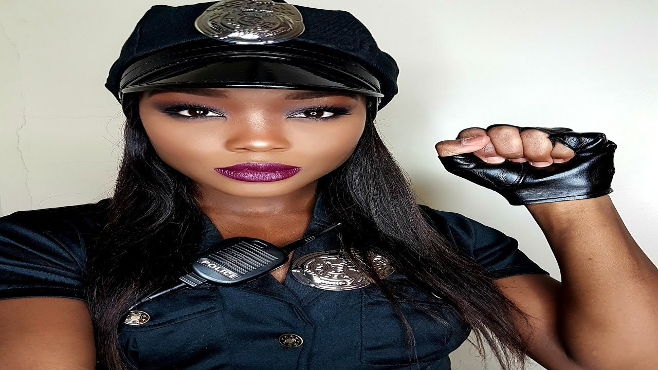 GRWM- Halloween cop/makeup tutorial